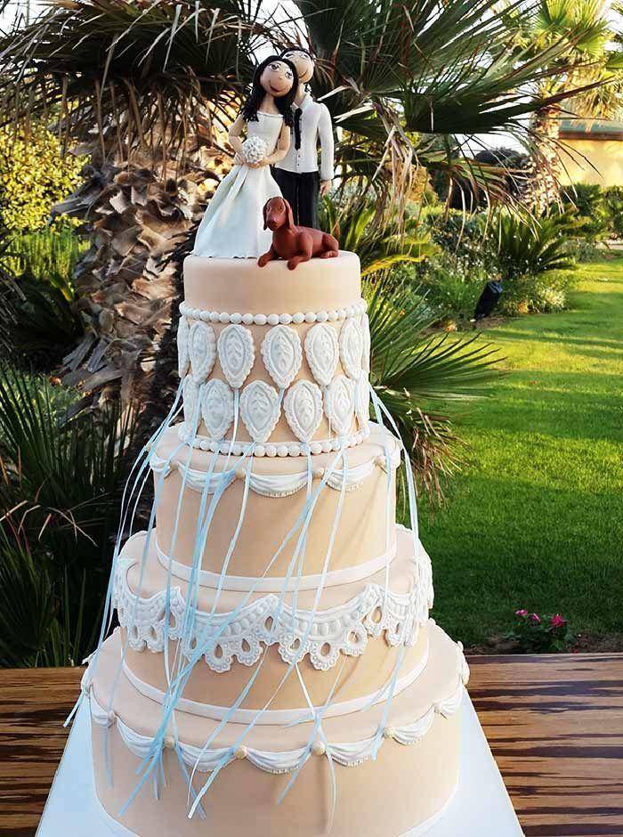 עוגות חתונה מעוצבות לרכישה אצל תמר על ההר