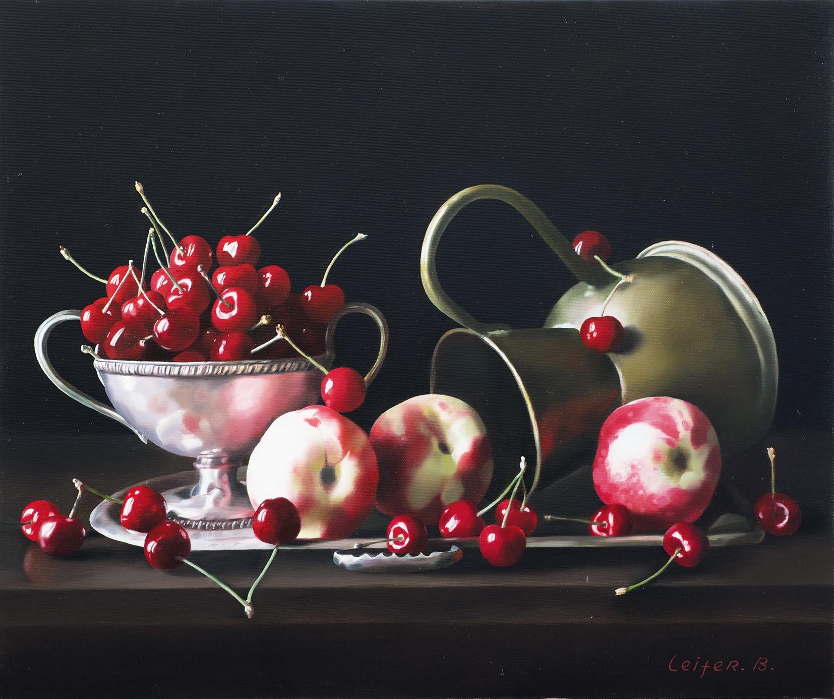 תערוכת ציורים של האמן בוריס לייפר