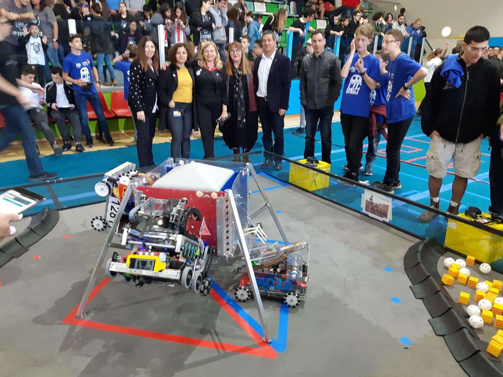 תחרות אימונים ברובוטיקה בנושא החלל