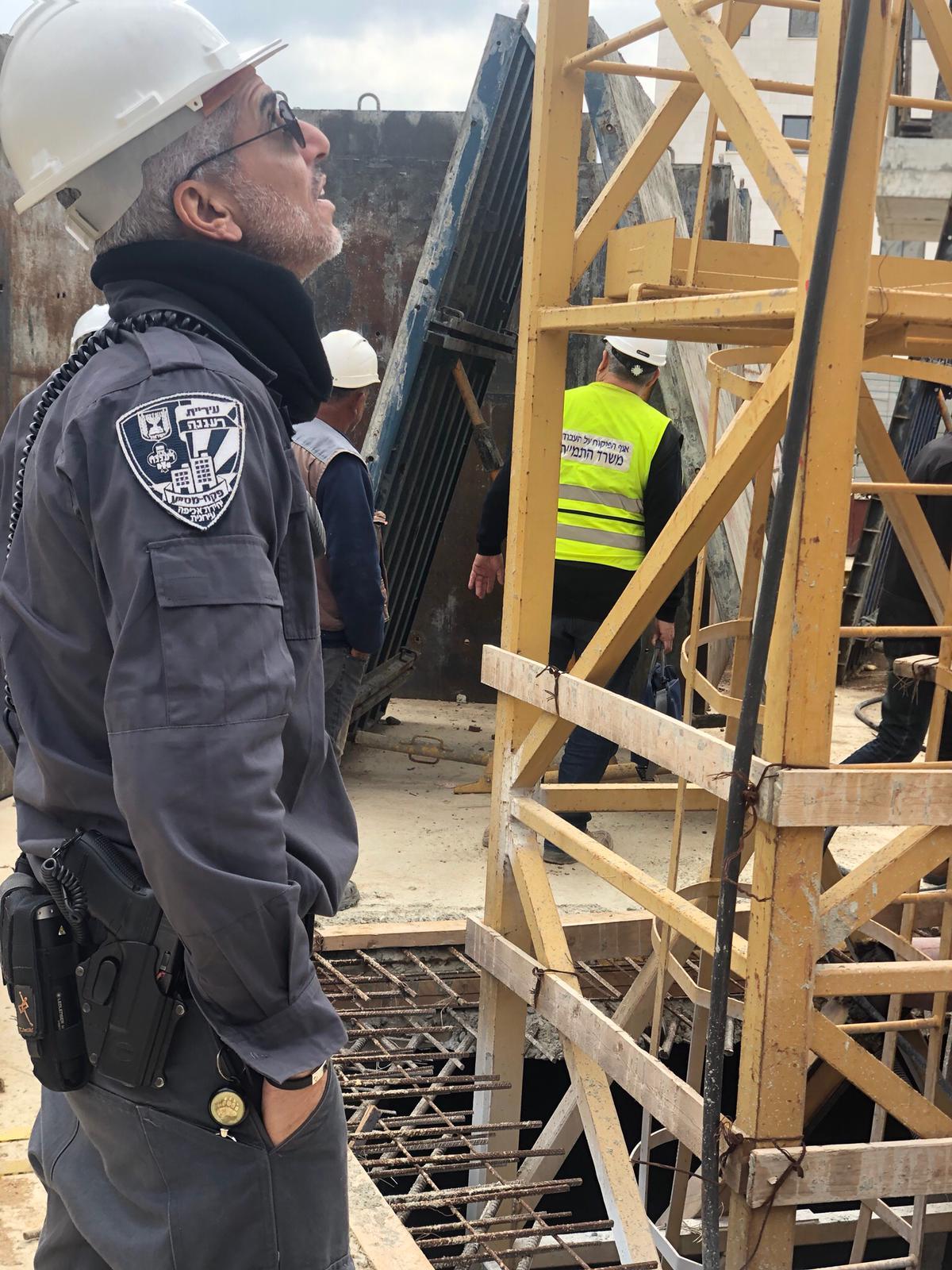 עיריית רעננה קיימה מבצע ביקורת בטיחות באתרי הבנייה ברעננה