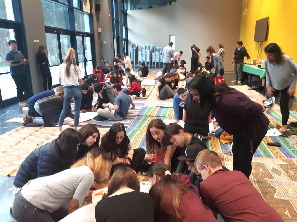 מועצות התלמידים בהרצליה התחרו בנושא מנהיגות ומנהיגים