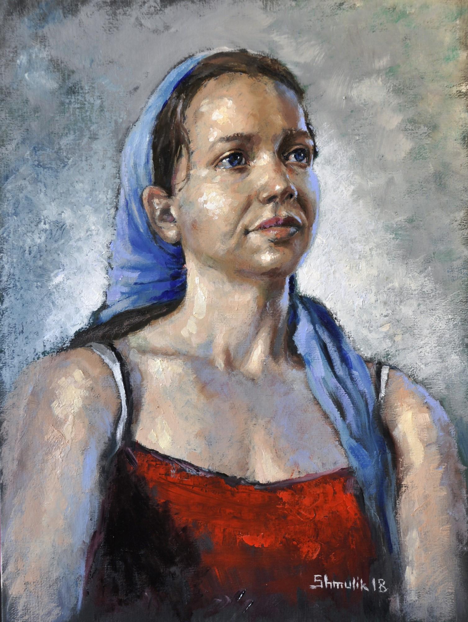מציוריו של שמוליק סוכרי המוצגים בתערוכה.