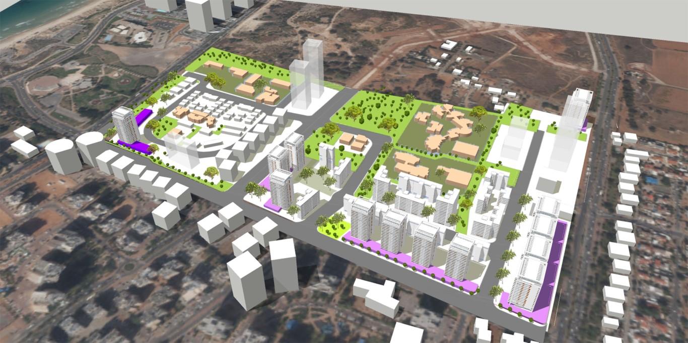 תוכנית של רשות מקרקעי ישראל להרחבת שכונת נווה עוז שבנתניה
