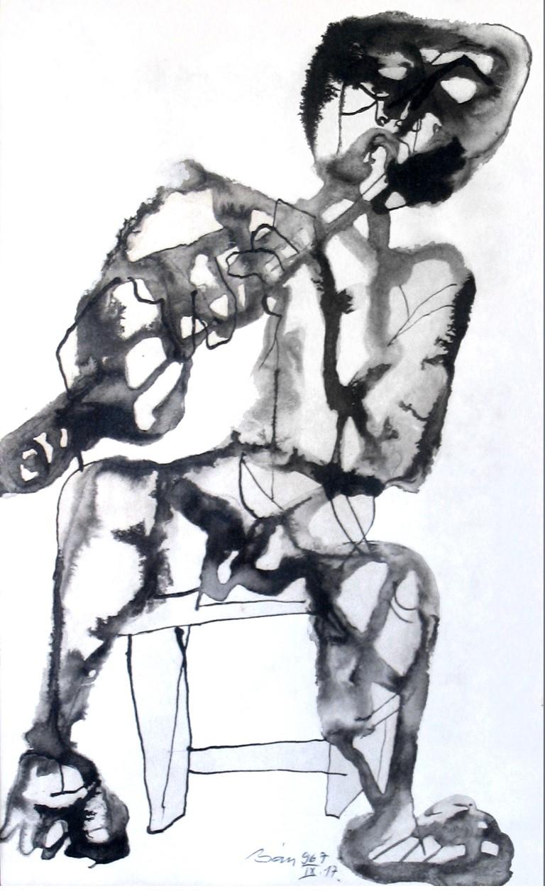 מעבודותיו של האמן בלא באן