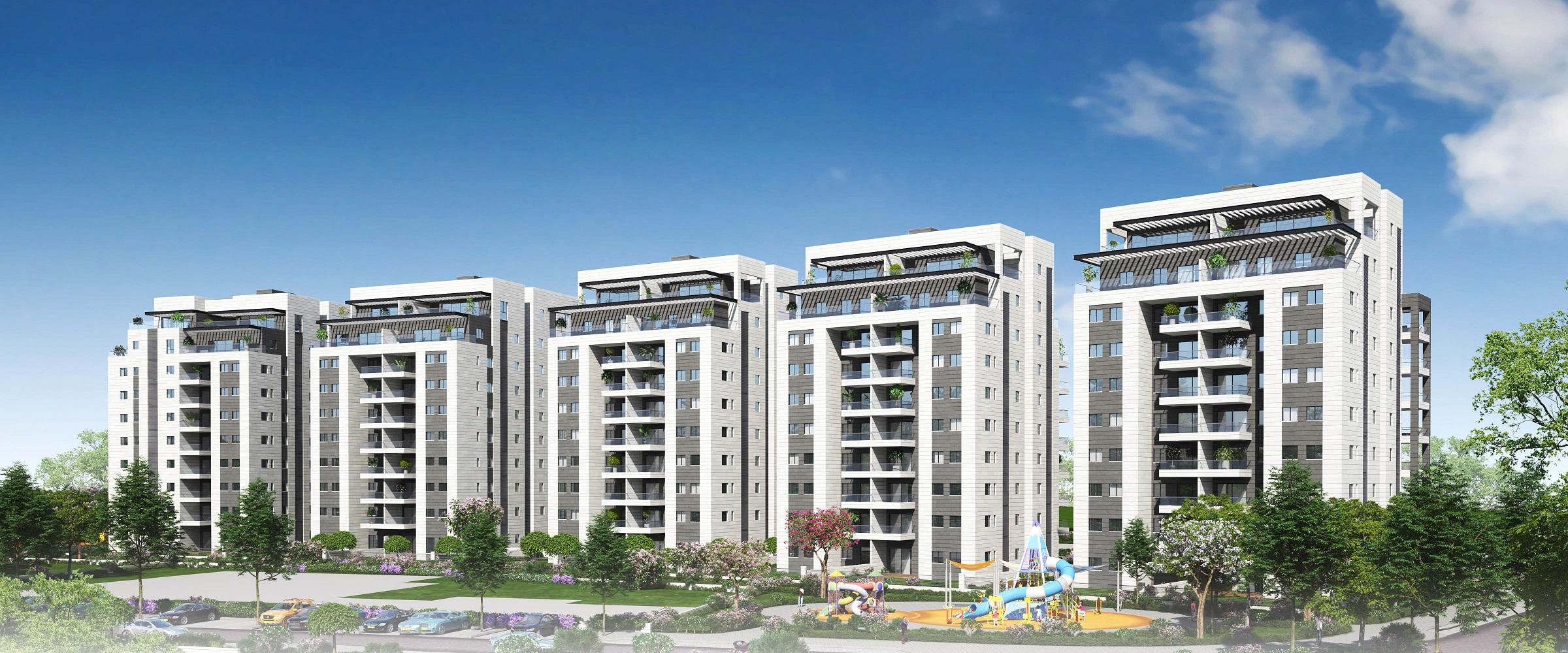 """הלמ""""ס: הרצליה במקום השני במכירת דירות חדשות"""