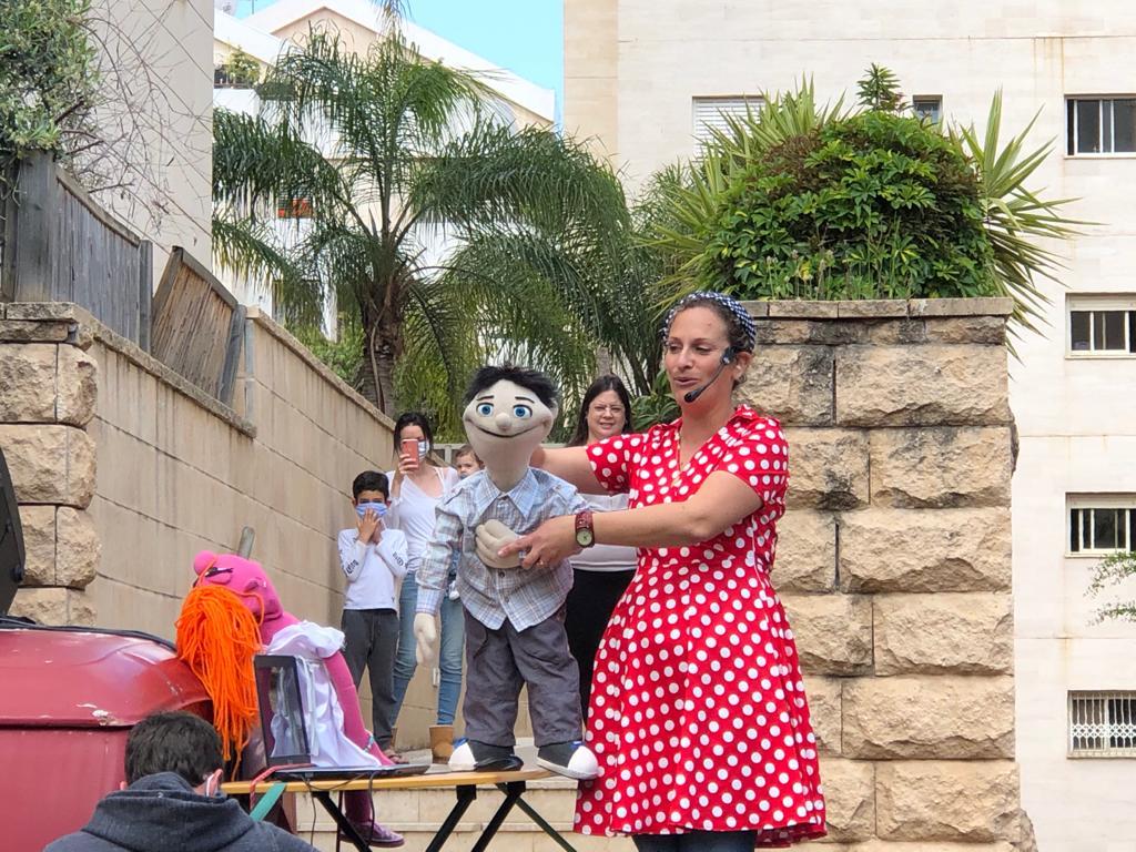 עיריית רעננה ממשיכה בעידוד תושבי העיר בשמחת החג במהלך משבר הקורונה